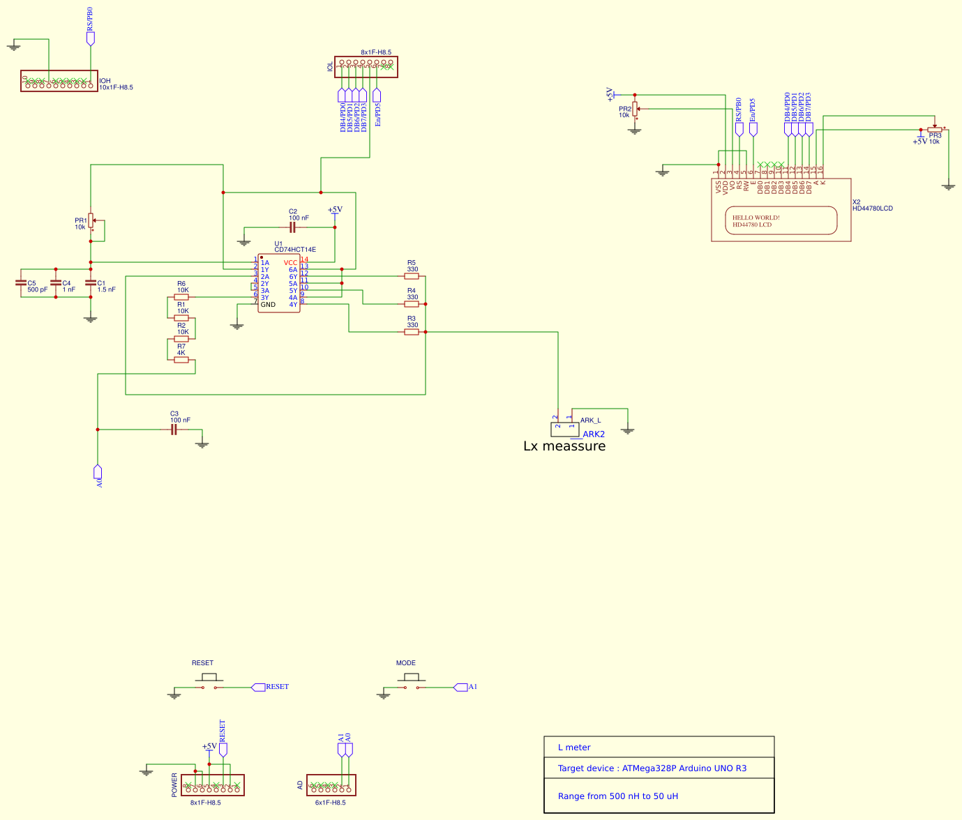 Arduino Shield L Meter Done In Jlcpcb And Easyeda Avr Freaks Coil Inductance Circuit Diagram 07l Small