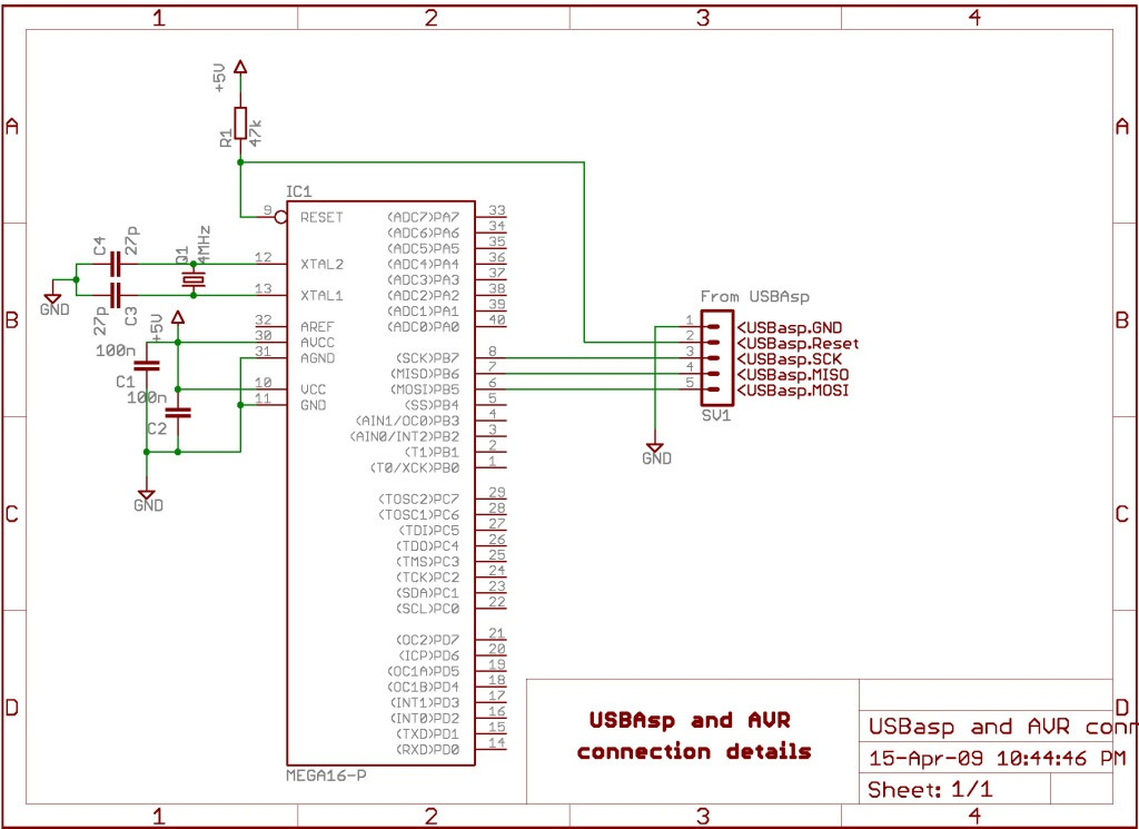 AVRISP mkII simply doesn't work with an Atmega16 in a